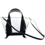 Side Fringe Tote Bag [small] /BLACK