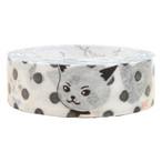 猫マスキングテープ(ドット猫)幅15mm
