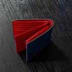 BS-9064 サフィアーノ 牛革 二つ折り財布(中ベラ付)