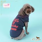 9。Paris Dog【正規輸入】犬 服 パーカー ドット カラフル 春 夏 秋物