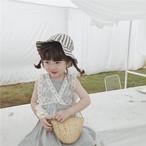レース デザイン ベスト 韓国子供服/韓国ベビー服 女の子