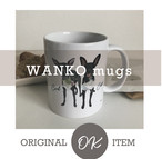 【SET】WANKO mugs