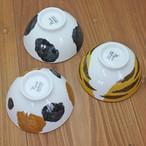 【猫柄】飯碗【お茶碗 猫柄 肉球付 猫雑貨】【BTVM001】