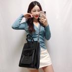 ボブポケットトートバッグ ショルダーバッグ 韓国ファッション