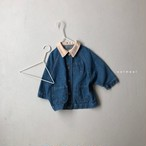 【予約販売】denim jacket〈oatmeal〉