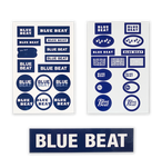 BLUE BEAT Original Stickers Set