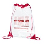 NO THANK YOU Eco PVC Backpack