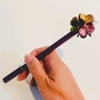 【オンラインショップ限定価格】No.216お花ボールペン(花色マルチカラー)