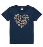 Tシャツ「わらわら縄文LOVE」インディゴ