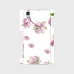 Dancing cherry blossom 八重桜 スマートフォンケース