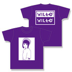 WILL-O' 小森うずら 生誕Tシャツ