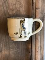動物やちむん キリン 子供用 マグカップ
