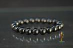 モリオン黒水晶AAAA10mmブレスレッド(チベット産)  B068