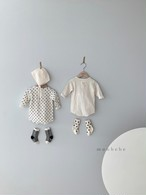 『翌朝発送』easy baby-suit【baby】〈monbebe〉