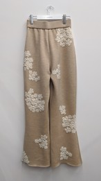 Flower Knit pants / フラワーニットパンツ