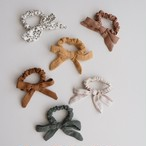 Rylee + Cru little bow scrunchie set(全2色/ONESIZE)