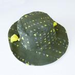 ガーランドテキスタイル Hat  カーキ