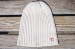 summer knit cap ivory