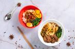 おうちでパーティーセット (ルーロー飯の具 4人前・牛肉麺用濃縮スープ 4人前)