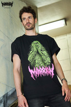 Brutal Zombie Marrion Green Tee (Green×Pink)