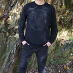 Inversion of Christ Long Sleeve Black×Black