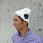 【UNISEX】Knit Cap (OFF WHITE)
