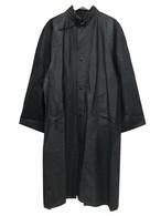 Dead Stock Swedish Army Black Rain Coat 48