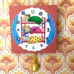 三段ベット CLOCK(振り子時計)