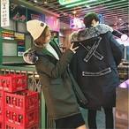 ジャケット レディース アウター モッズコート 大きいサイズ ファー付きフード ユニセックス 男女兼用 カジュアル 秋冬