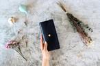 イングラサット_ネイビー◆外装◆おとな財布◆三つ折り
