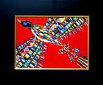 油彩画*鳥* 2015