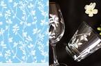 ガラス用 BRANCH ブランチ転写紙 ホワイト(ポーセリンアート用転写紙 葉・木・小枝)