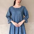 125.denim one-piece dress◇デニムワンピース