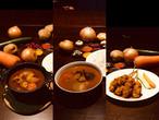 ◆カレー2種とファイアーチキンスティック・お試し食べ比べセット◆チキンカレー【中辛】1食・ビーフ(脛)カレー1食・ファイアーチキンスティック5本