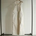UNION LAUNCH 【 womens 】 burukina organic-denim overall skirt