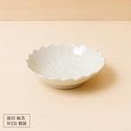 43[前田 麻美 個展]灰青釉  菊4寸鉢