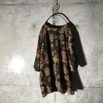 [used] traditional designed half shirt