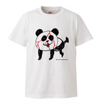 【限定受注生産】東京キララ社オフィシャルTシャツ「血まみれパンダ」