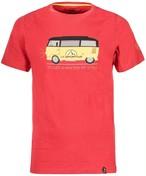 【30%OFF】La Sportiva スポルティバ メンズ  Van T-shirt H47307307 Cardinal Red Sサイズ