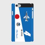 ブルーインパルス4番機(写真入り)  iPhoneケース
