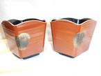 漆盃洗 pair small bowl which sake cups are rinsed(lacquer ware)