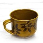 【モリーさん】葉っぱ柄コーヒーマグ/マグカップ