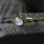 Jaipur gem リング -moon stone- #11