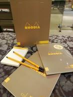 ロディアのペンシル&メモセッ ト ロディアBOOK