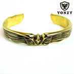YONZY Phoenix Bangle Brass