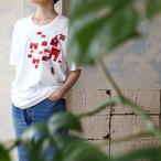 メゾン刺繍Tシャツ *nude: masahiko maruyama