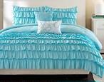 【 SALE 20% OFF 】Celeb Blue Comforter Bed Set