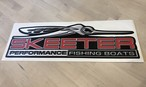 SKEETER PERFORMANCE FISHING BOAT カーペットデカール