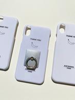 iPhone case リング付き  6/6s/7/8対応 ・X/XS対応・XR対応
