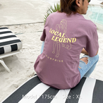 LOCAL LEGEND Tee - Merlot